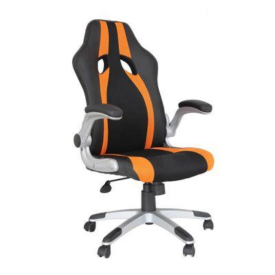 Cadeira-Office-Speed-Preta-e-Laranja