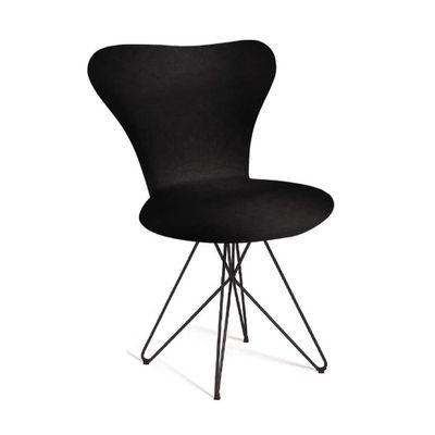 cadeira-jacobsen-base-butterfly-preta