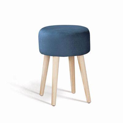 puff-moeda-azul-marinho-base-madeira