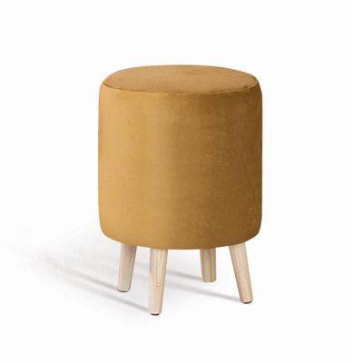 puff-rolha-dourado-base-madeira