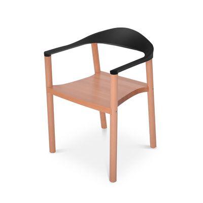 cadeira-wood-preta