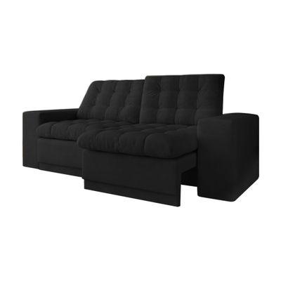 Sofa-Titan-200-Velosuede-Preto