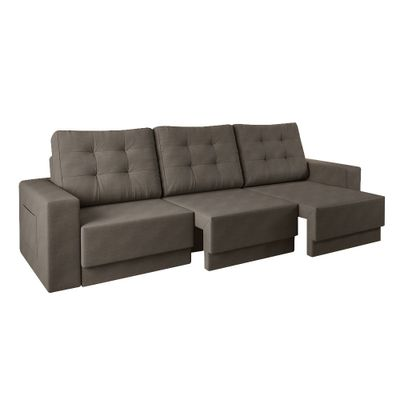 Sofa-Boston-220-Velosuede-Bege
