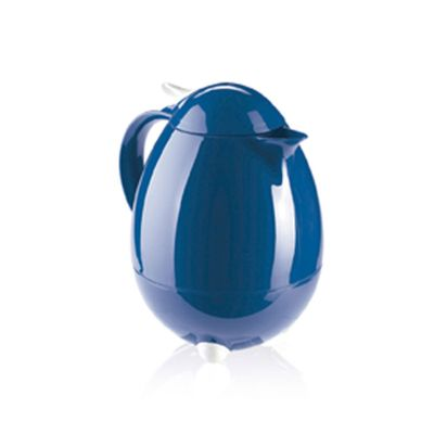 Garrafa-Termica-Columbus-Leifheit-com-Ampola-Vidro-Azul-1L