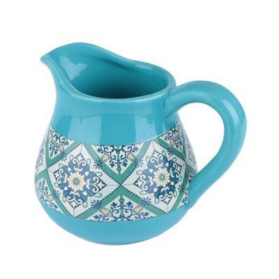 Vaso-Ceramica-Jar-Portuguese-Tile-Verde-P
