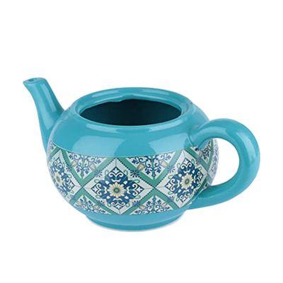 Cachepot-Ceramica-Teapot-Portuguese-Tile-Verde-27X165X11cm