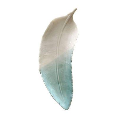 Decor-Ceramica-Curved-Feather-Branco-Azul-173X66X25cm