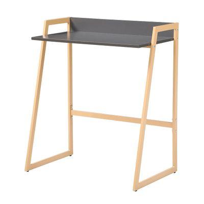 mesa-de-estudo-modelo-graduate-small-com-tampo-na-cor-cinza-e-pernas-na-cor-amarela-b