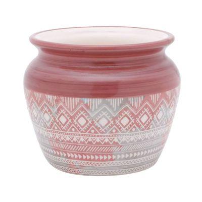 Vaso-Ceramica-Ethinics-Geometrics-Rosa-167X167X135cm