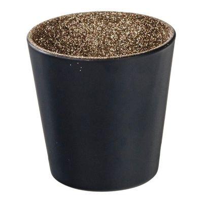 Castical-Vidro-Black-Shining-Inside-Dourado-75X75X75cm