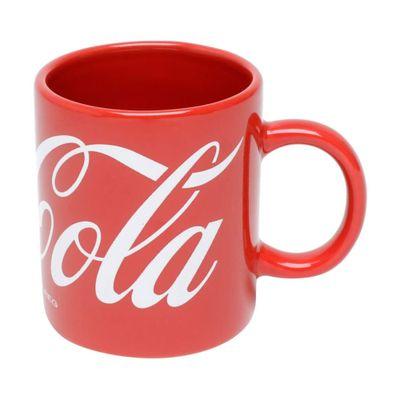 Mini-Caneca-Porcelana-Coca-Cola-Logo-Classic-Vermelho-67X67X73cm-140ml