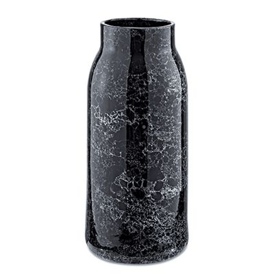 Vaso-Preto-Marmorizado-em-Ceramica