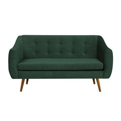 sofa-2-lugares-mimo-base-castanho-veludo-verde-T1170