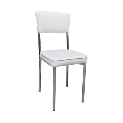 Cadeira-Cromada-Assento-Encosto-Branco-Filete-Branco