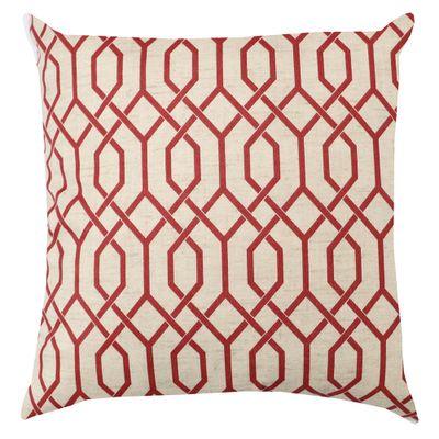 Capa-De-Almofada-Veludo-Geometrico-Vermelho-43x43cm
