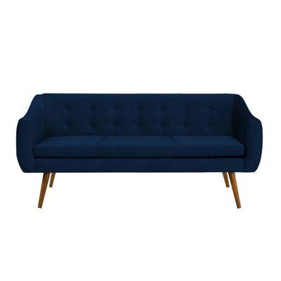 sofa-3-lugares-mimo-base-castanho-veludo-azul-marinho-T0068