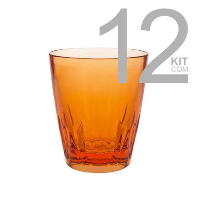 kit-12-copo-de-agua-acrilico-laranja-home-collection-664403
