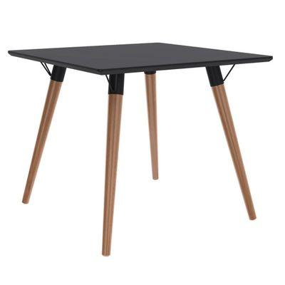 mesa-quadrada-090-base-clara-tampo-preto-fosco-outlet-moveis-decoracao