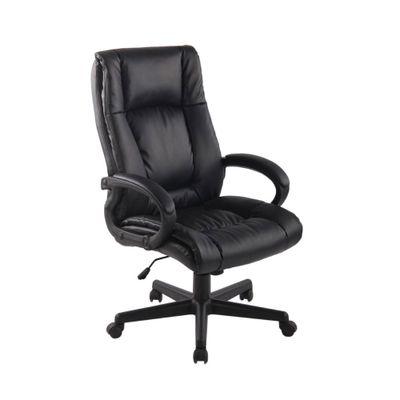Cadeira-Office-Baza-Americana-com-Rodizio-PU-Preto-outlet-home-office