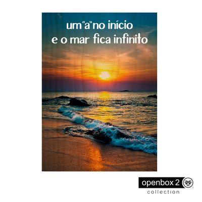 Quadro-Wood-Print-50X33-Um-A-No-Inicio-E-O-Mar-Fica-Infinito