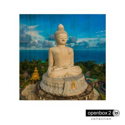 Quadro-Wood-Print-60X60-Buda