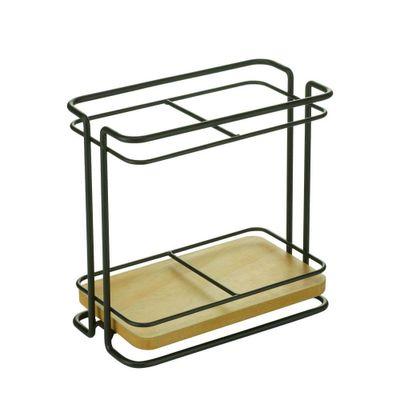 porta-talheres-metal-wood-rack-preto-2-div-17x9x16cm-44416_B