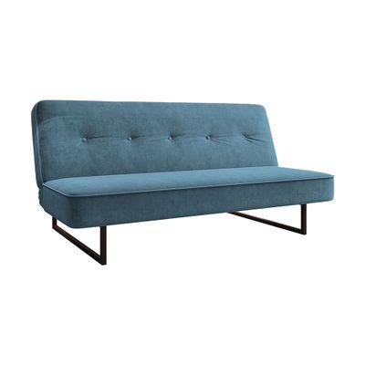 Sofa-Cama-Thurman-194-Veludo-Azul-Marinho-8336-outlet