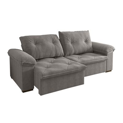Sofa-Copacabana-250-Veludo-Avela-9183-Bipartido-outlet-reclinavel-retratil