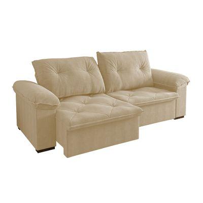 Sofa-Copacabana-250-Veludo-Bege-9181-Bipartido-outlet-reclinavel-retratil