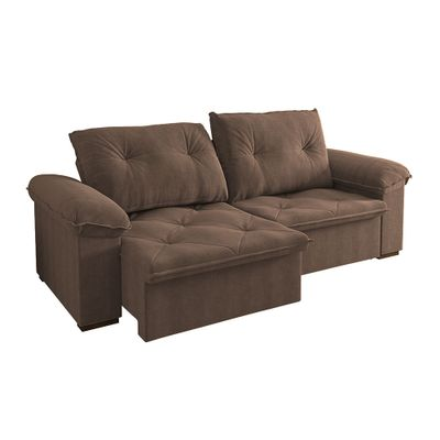 Sofa-Copacabana-250-Veludo-Chocolate-9184-Bipartido-outlet-retratil-reclinavel