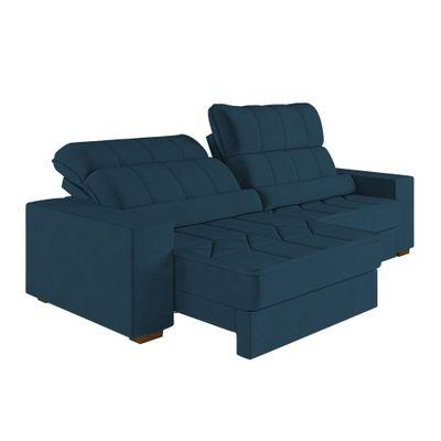 Sofa-Marajo-290-Veludo-Azul-Marinho-9186-outlet-reclinavel-retratil