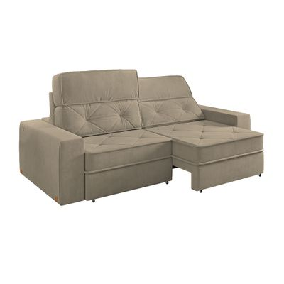 Sofa-Prescott-Canto-280-Veludo-Castor-com-USB-9182-outlet