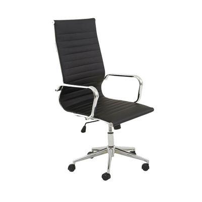 Cadeira-Office-Sevilha-Alta-com-Rodizio-PU-Preto