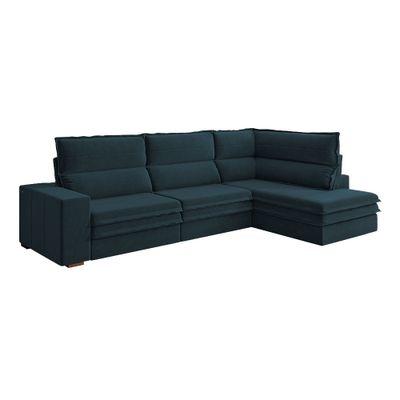 Sofa-Campestre-Canto-294-Veludo-Azul-Marinho-9186-outlet