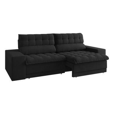 Sofa-Carmel-250-Velosuede-Preto