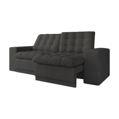 Sofa-Titan-200-Velosuede-Cinza