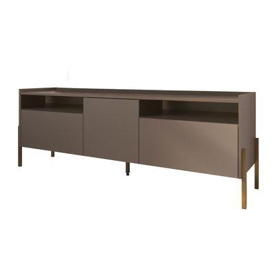 rack-kota-com-3-portas-164-base-metal-dourado-antigo-topo-madeira-escura-porta-cinza-PH-8008-F