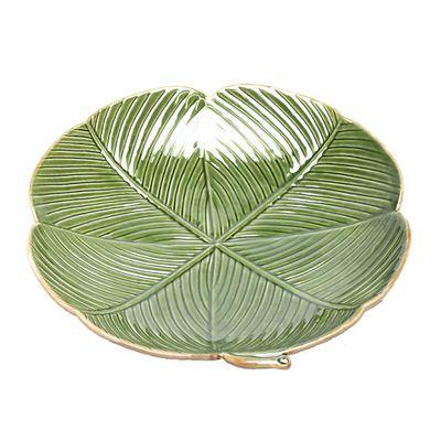 Folha-Decorativa-Banana-Leaf-Ceramica-Verde-16x16cm-4137_B