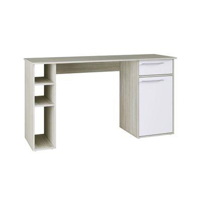 Escrivaninha-Est109-com-1-Porta-1-Gaveta-140-Branco-Off-White-81282-a
