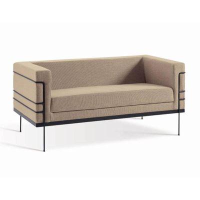 sofa-le-corbusier-2-lugares-amarelo