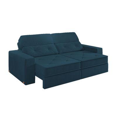 Sofa-Prescott-Canto-280-Veludo-Azul-Marinho-9186-outlet-reclinavel-retratil-2