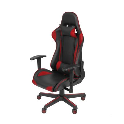 Cadeira Gamer Office F16 com Rodizio Vermelha